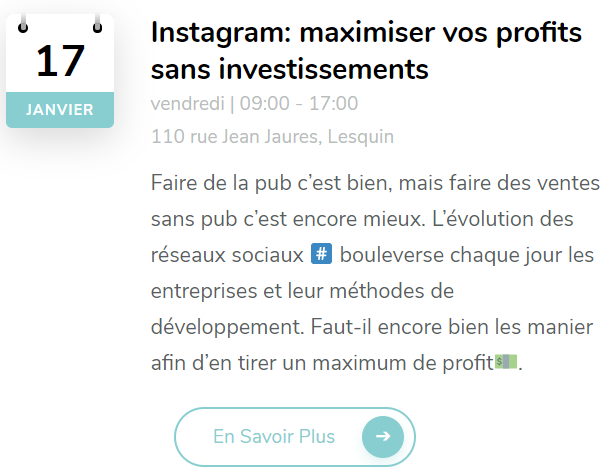 formation instagram lille